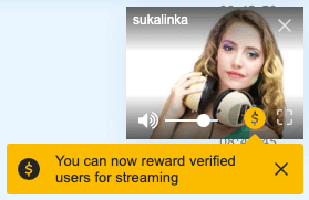 Chat credits